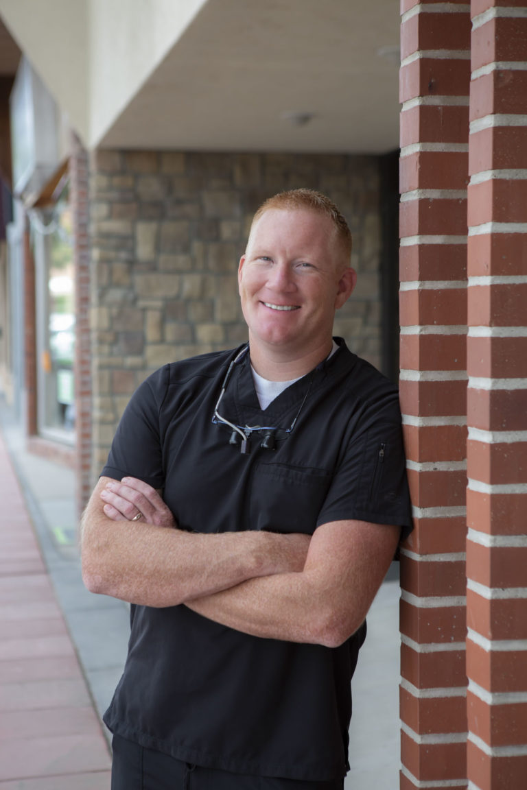 dr rock hull, a dentist at powell family dental in powell wyoming