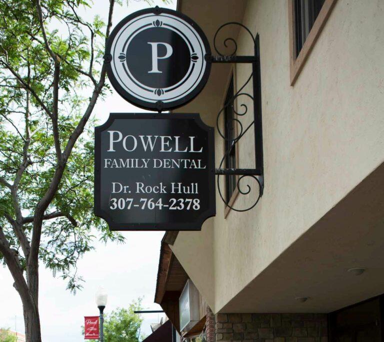 Powell Family Dental exterior of building